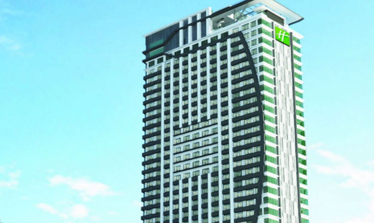 Rendering of the Holiday Inn Johor Bahru City Centre