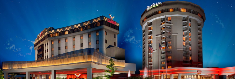 Valley Forge Casino Resort - Exterior at night