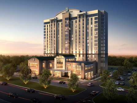 Rendering of the Embassy Suites by Hilton Houston West - Katy Hotel