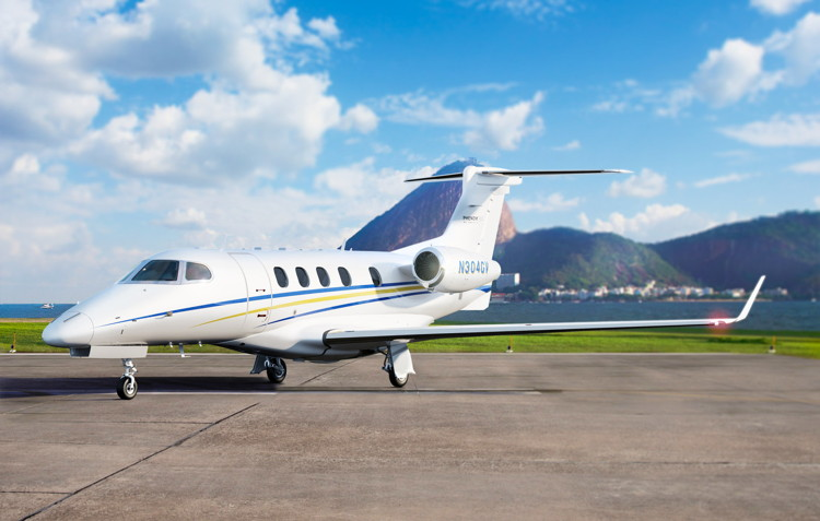 GrandView operates Phenom 300 light jets