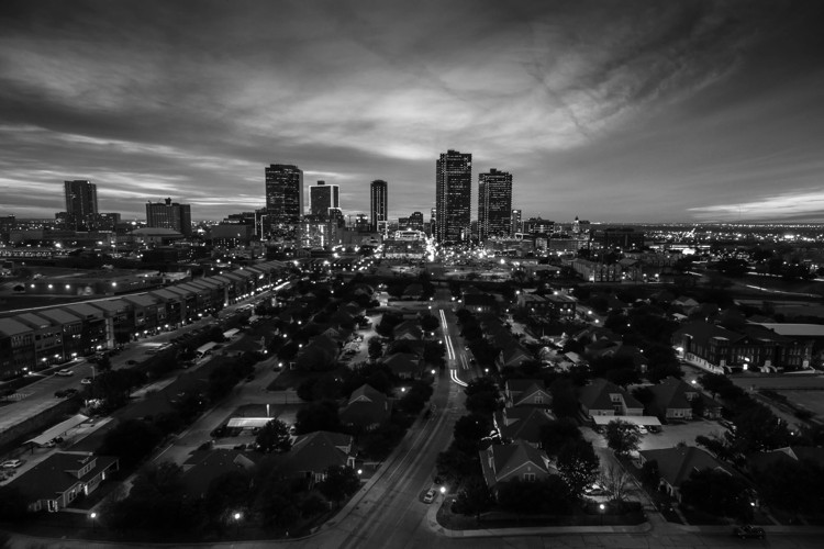 Fort Worth, TX Skyline - Photo by Christopher Jenseth on Unsplash