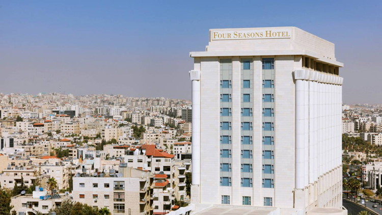 Four Seasons Hotel Amman - Exterior