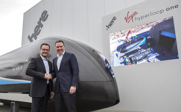 Virgin Hyperloop One and HERE CEOs