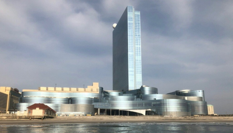 Revel Casino Hotel in Atlantic City - View from ocean