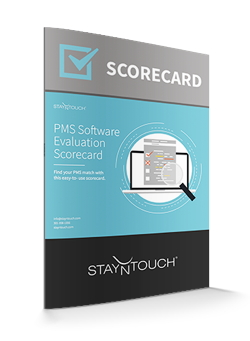 Cover - PMS Software Evaluation Scorecard