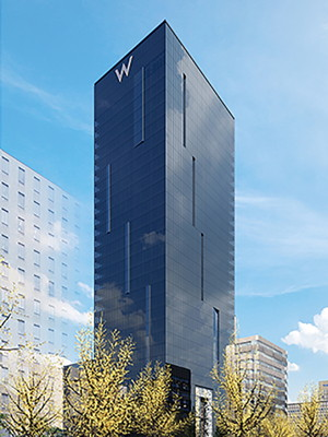 Rendering of the W Hotel Osaka