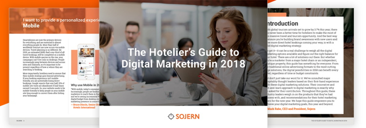 Cover - The Hotelier's Guide to Digital Marketing in 2018