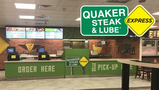 Quaker Steak & Lube Express at TA in Gary, Indiana