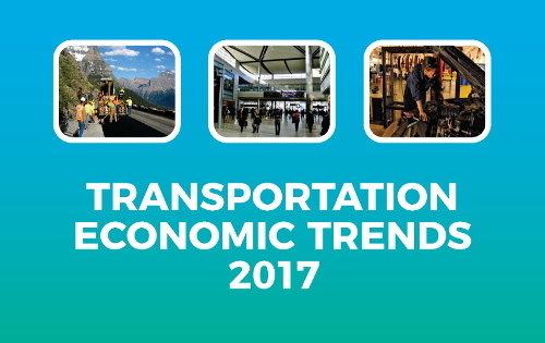 BTS Releases U.S. Transportation Economic Trends 2017