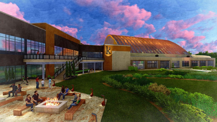 Rendering of the The Kartrite Hotel & Indoor Waterpark