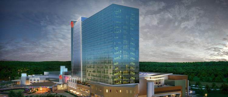 Rendering of the Resorts World Catskills