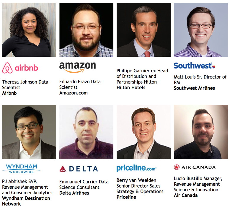 Speakers at Smart Travel Data Summit North America 2018