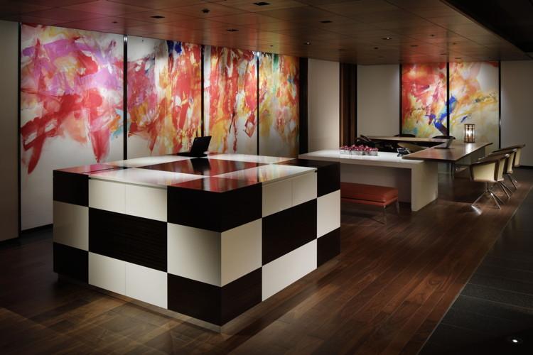Hyatt Centric Ginza Tokyo Reception Lobby
