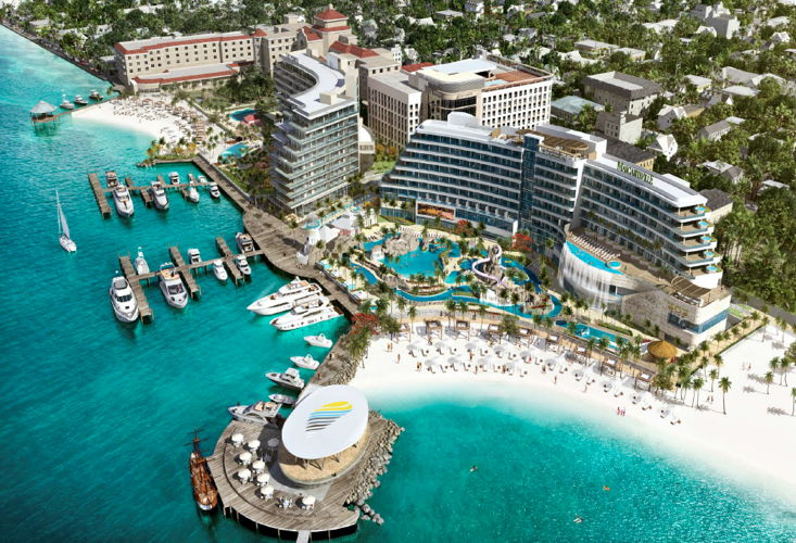 Rendering of the Margaritaville at The Pointe