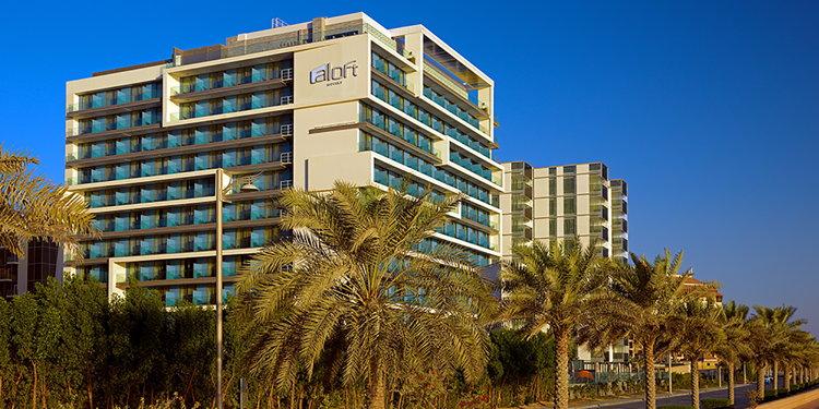 Aloft Palm Jumeirah Hotel - Exterior