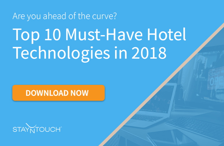 Cover - Top 10 Must-Have Hotel Technologies in 2018 Report
