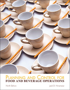 Cover - Planning and Control for Food and Beverage Operations