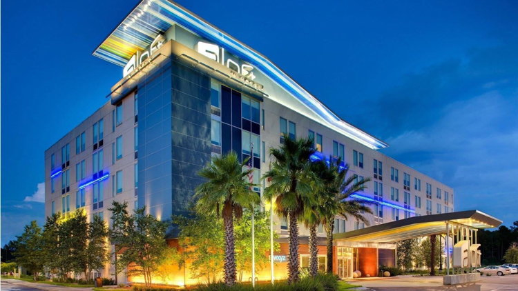 Aloft Hotel Jacksonville Airport - Exterior