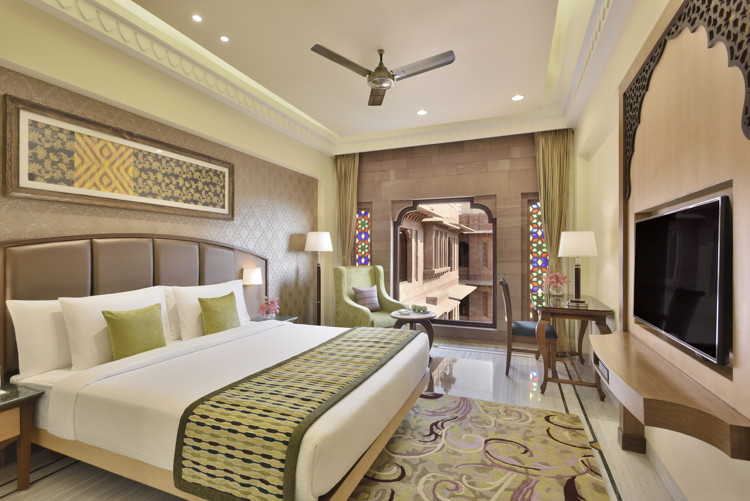 Guestroom at the Radisson Jodhpur
