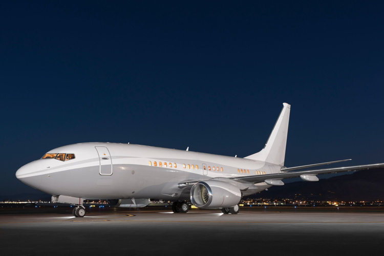 Silver Air Adds Boeing Business Jet to Charter Fleet