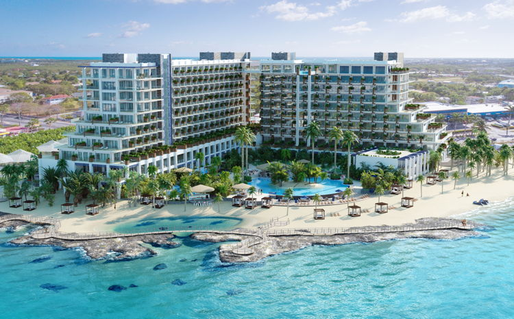 Rendering of the Grand Hyatt Grand Cayman Hotel & Residences