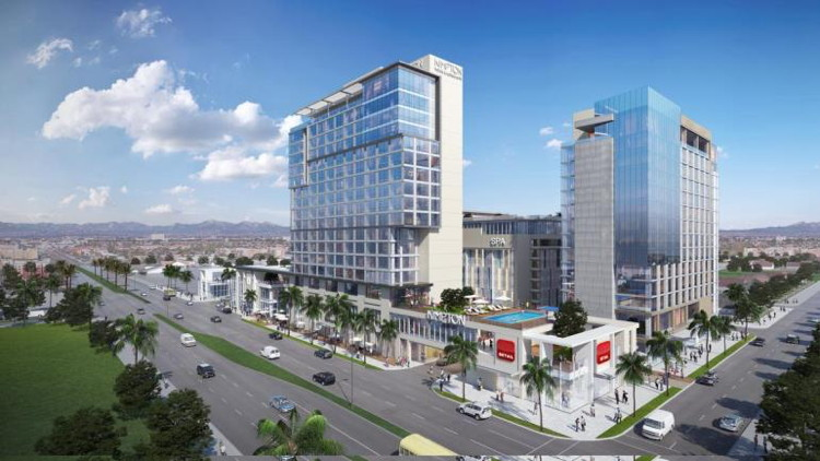 Renderong of the Kimpton Hotel to Open 2021 in Orange County