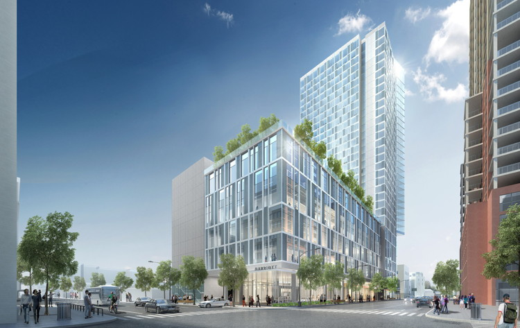 Rendering of the Austin Marriott Downtown Hotel