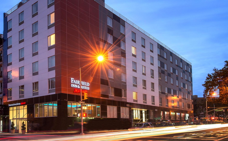 Urgo Hotels and Resorts Fairfield Inn And Suites Chinatown NY - Exterior