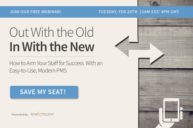 StayNTouch Webinar Series