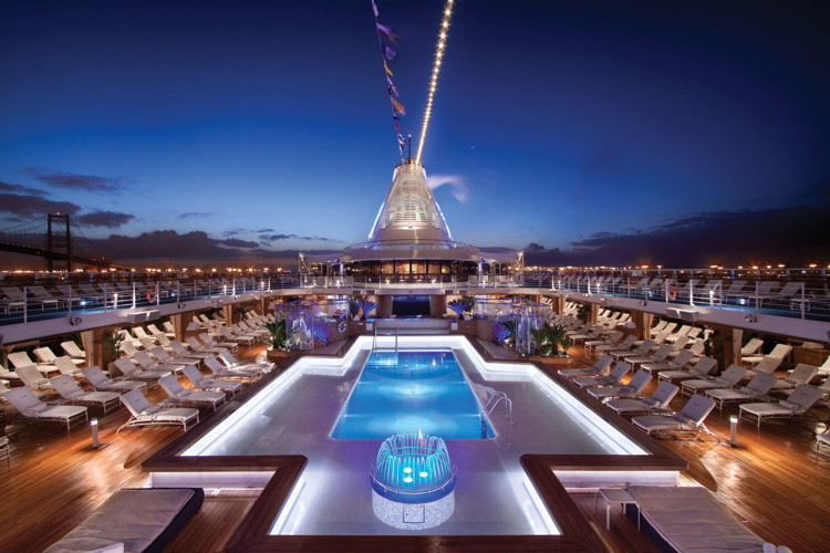 Deck of a Oceania Cruises ship - Photo Credit: Oceania Cruises