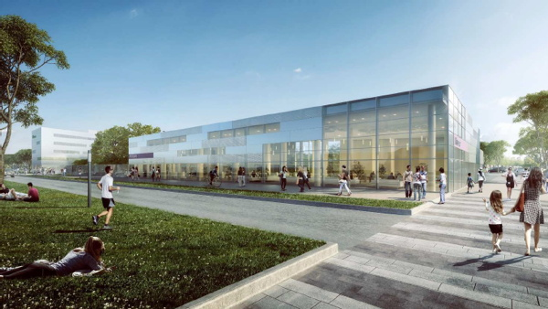 Artists impression of the renovated Mercure hotel in the Orlytech district at Paris-Orly Airport © Arte & Charpentier