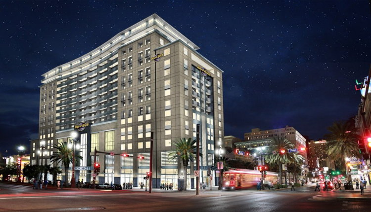 Rendering of the Hard Rock Hotel New Orleans