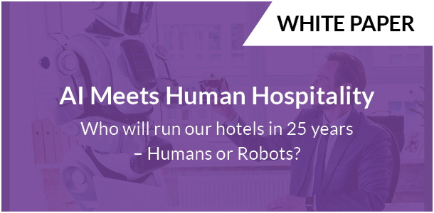 Promotional image for Whitepaper - AI Meets Human Hospitality