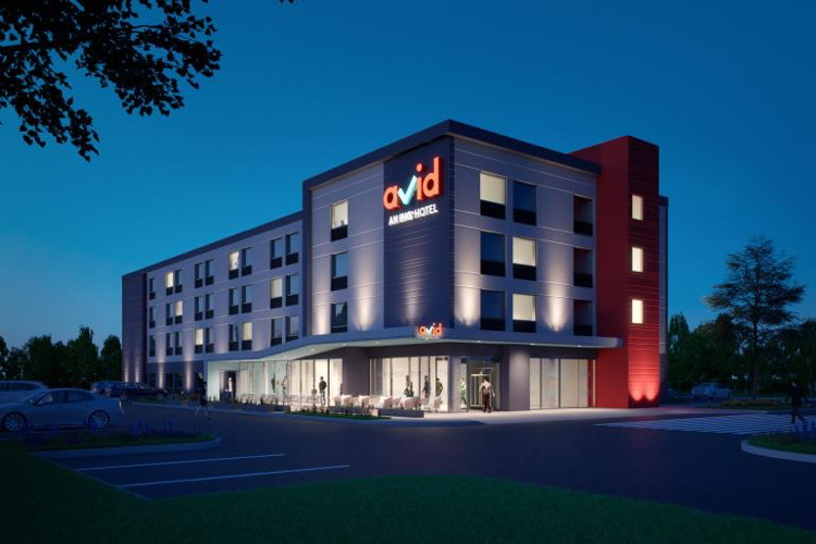 Rendering of a avid hotel prototype