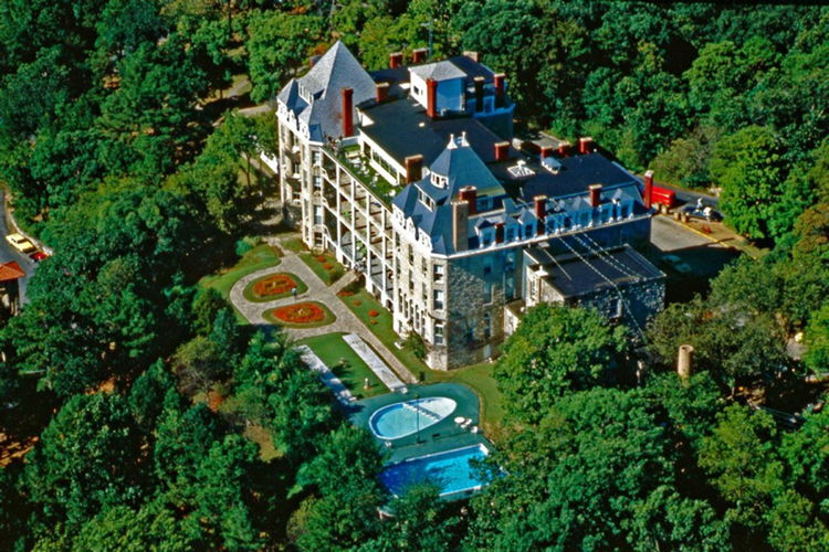 Crescent Hotel & Spa - Aerial View