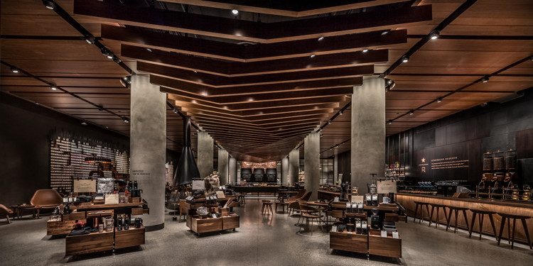 Starbucks First Reserve Store Opens with Italian Princi Bakery
