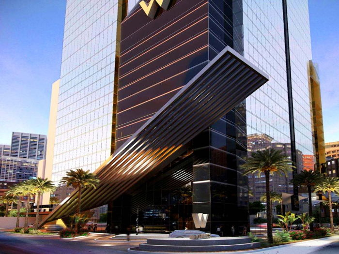 Rendering of the W Panama Hotel