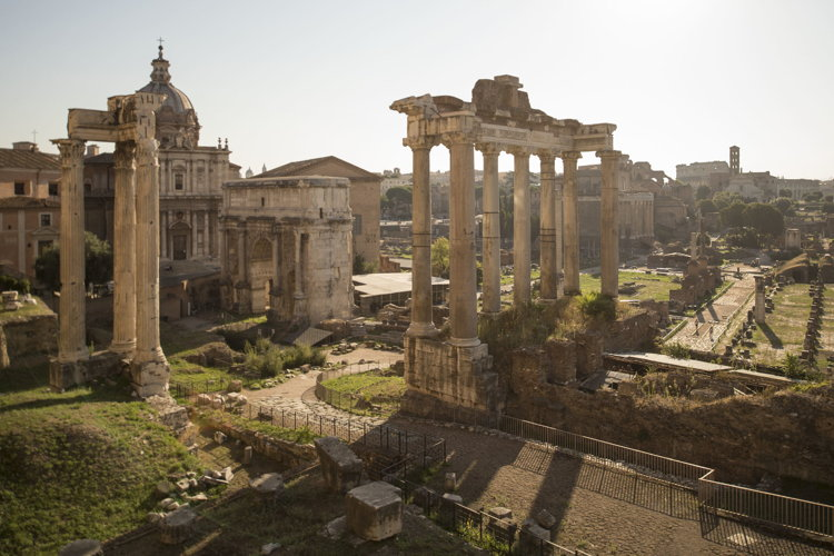The Roman Forum  (David Roark, photographer)