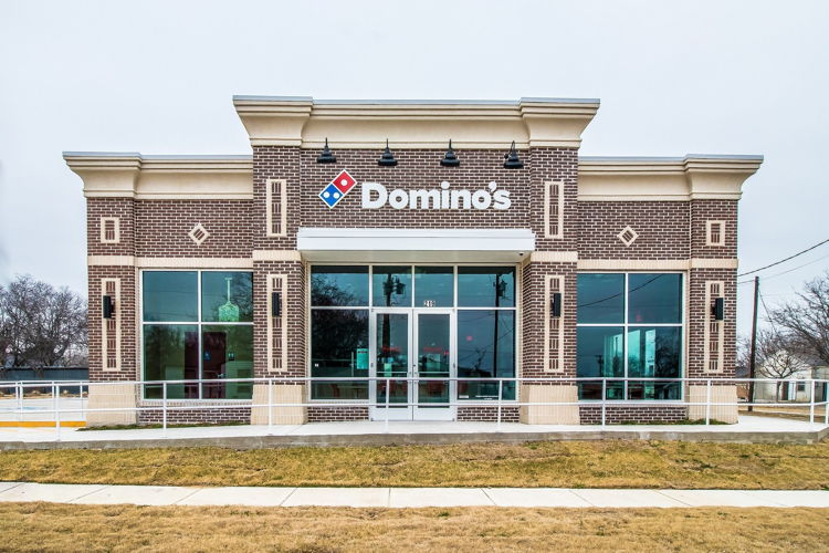 Domino's in Lewisville, Texas - Exterior