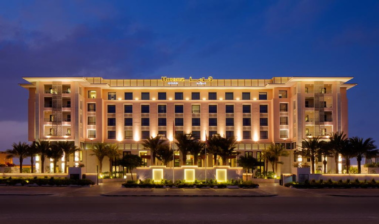 Hormuz Grand Muscat, Oman - Exterior at night
