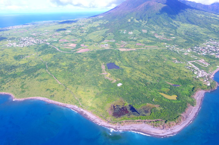 Six Senses Resort in St. Kitts - Aerial view of land to be developed