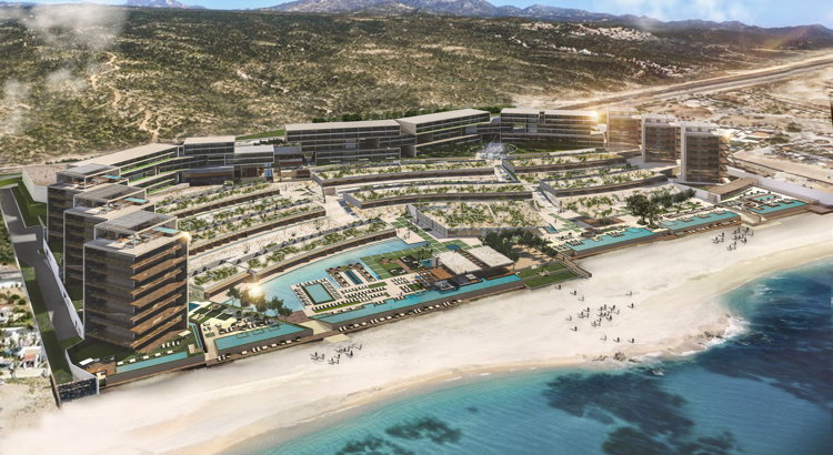 Rendering of the Solaz, a Luxury Collection Resort, Los Cabos