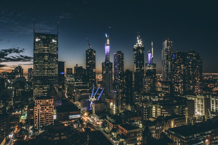 Melbourne Skyline - Photo by Louis Amal on Unsplash