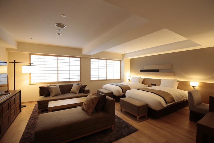 Guestroom at the HOTEL INTERGATE Kyoto/Shijo-Shinmachi