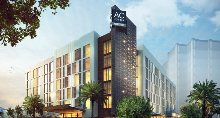 Rendering of the AC Hotel by Marriott Tampa/Airport Westshore