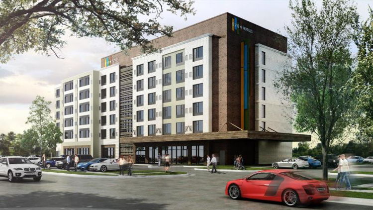 Rendering of the EVEN Hotels Property in Alpharetta, Georgia