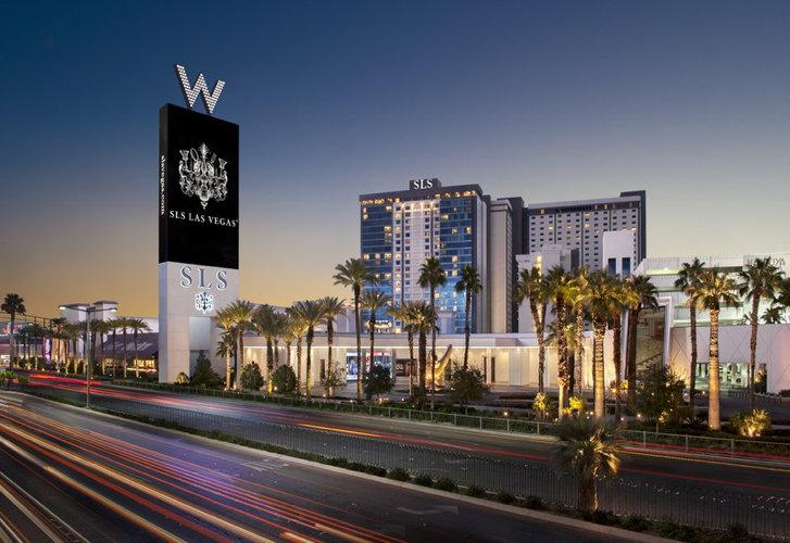SLS Las Vegas - Exterior