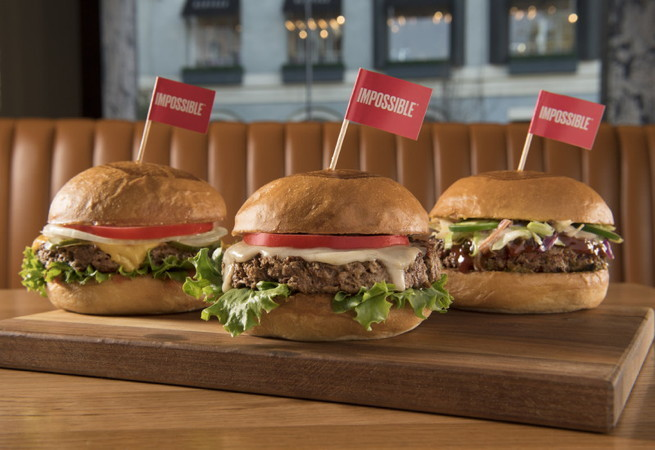 Three Impossible Burgers
