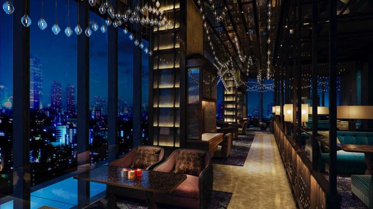 Rendering of Bar Trigona at Four Seasons Hotel Kuala Lumpur