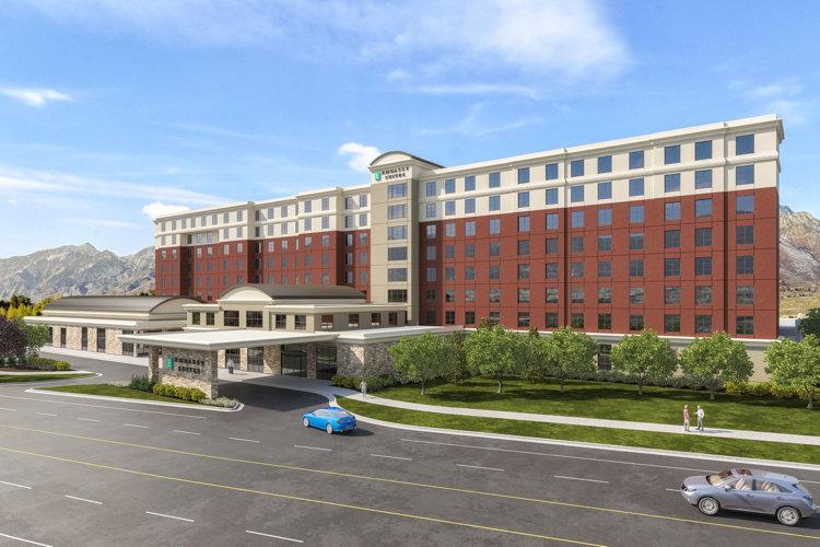 Rendering of the Embassy Suites by Hilton South Jordan Salt Lake City